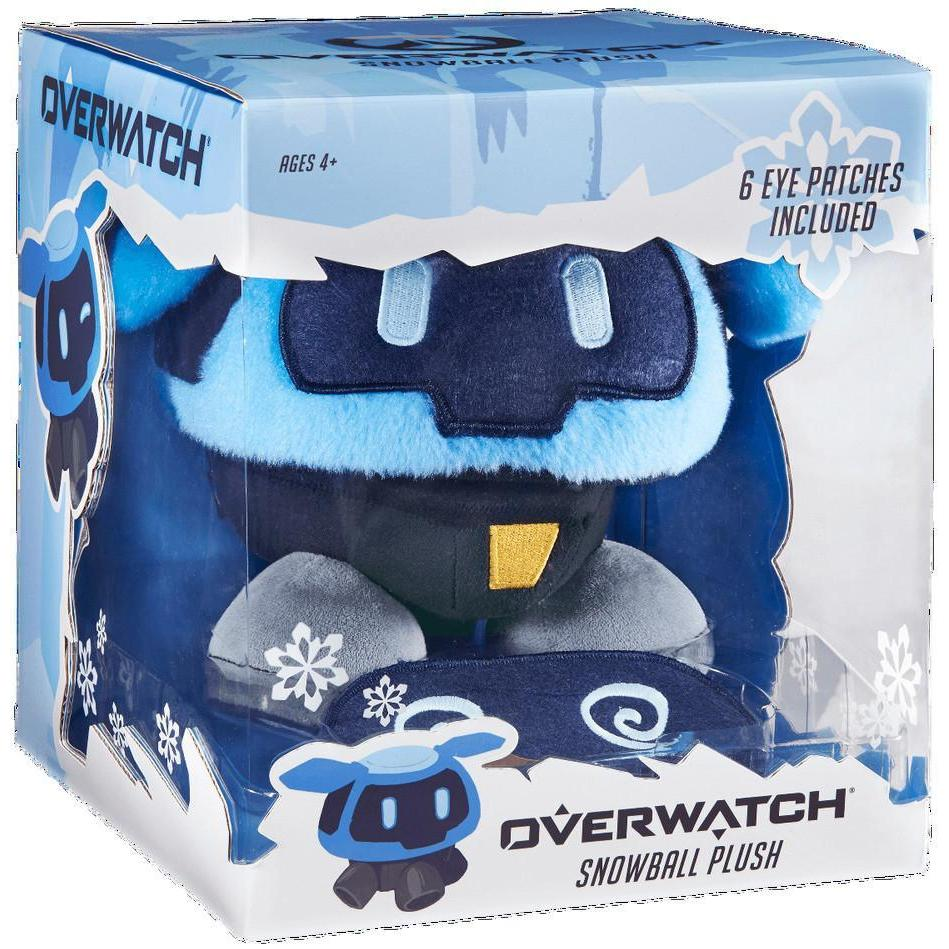 Overwatch Plush Snowball with Changeable Eyes