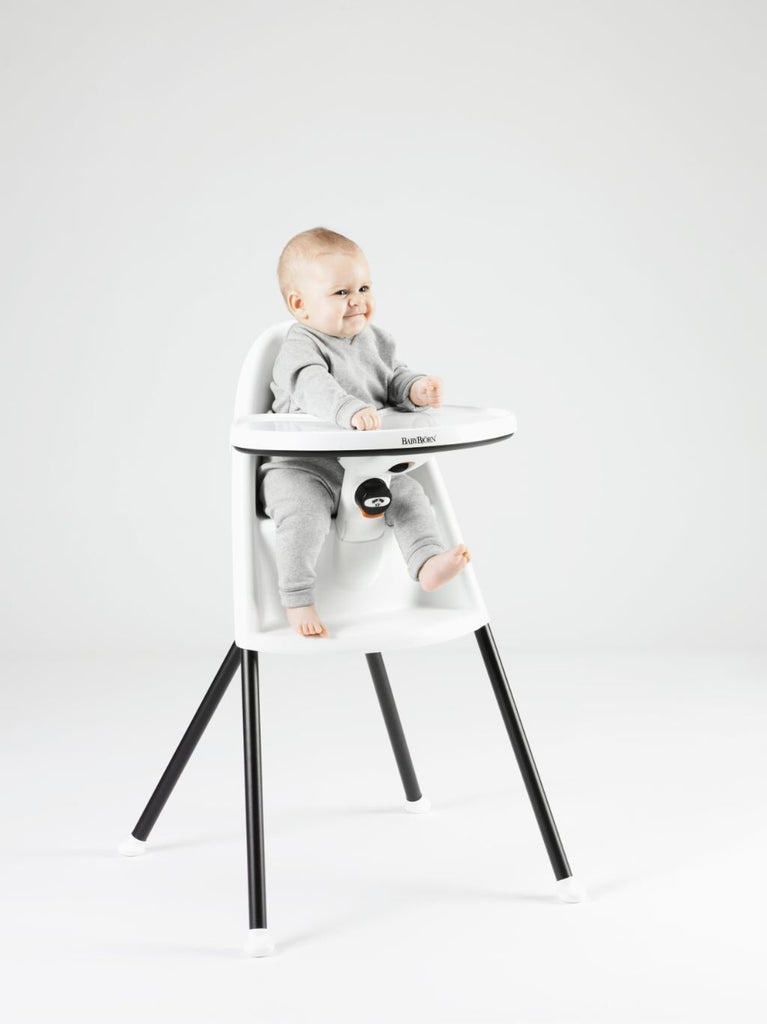 BabyBjorn 2018 Edition High Chair Appetite Snow White