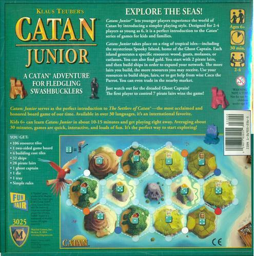 Catan Junior Board Game-Cubox Australia