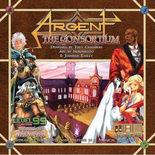 Argent: The Consortium Board Game-Cubox Australia