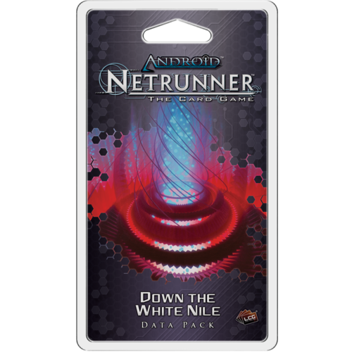 Android: Netrunner - Down the White Nile Data Pack-Cubox Australia