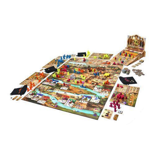 Agra Board Game