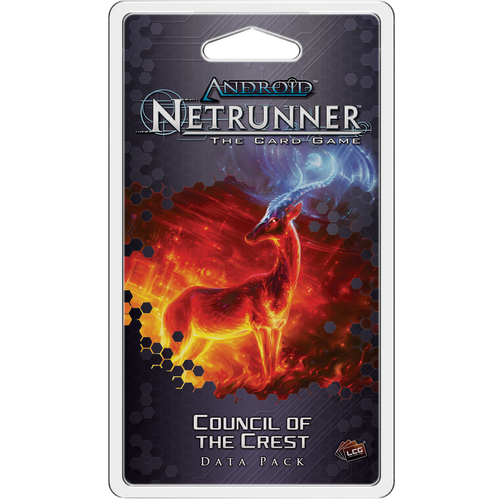 Android Netrunner: Council of the Crest Expansion-Cubox Australia