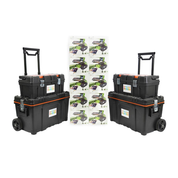 10 x Robobloq Qoopers 6 in 1 Robot with 2 Free Storage Kits-Cubox Australia