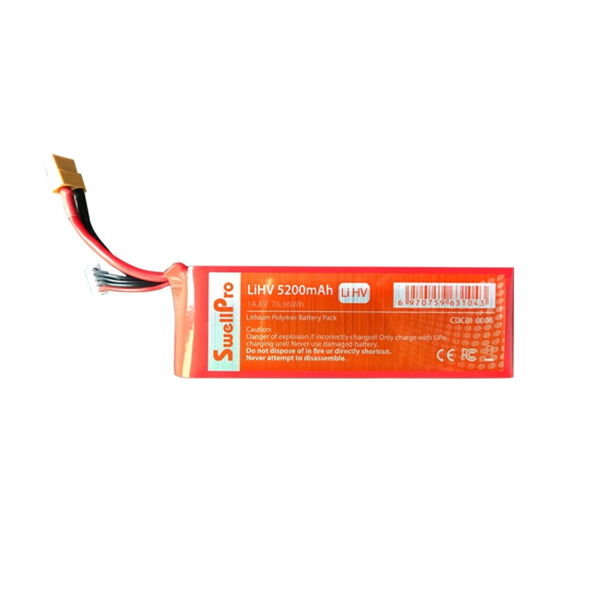 The Brand New 4S High-Voltage battery for SplashDrone 3/3+