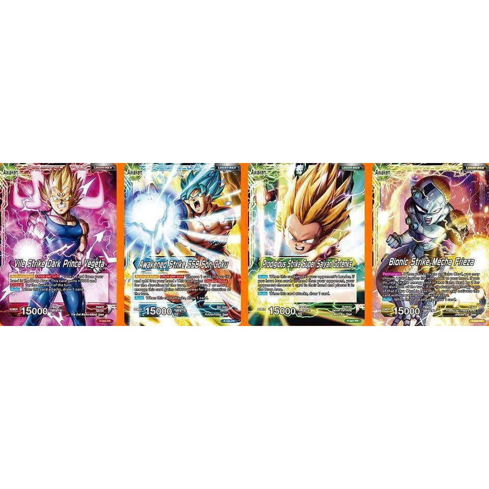 Dragon Ball Super TCG Card Game Draft Box 01