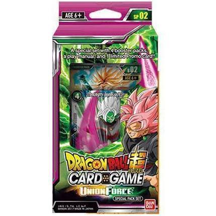 Dragon Ball Super TCG Card Game Booster Union Force Special Pack 02