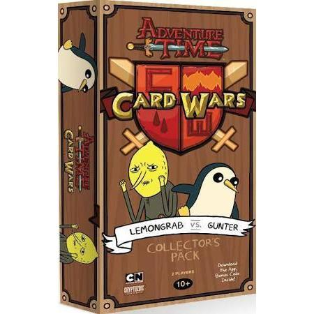 Adventure Time Card Wars Lemongrab vs Gunter Collectors Pack-Cubox Australia