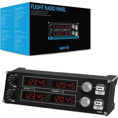 Logitech G Pro Flight Radio Panel-Cubox Australia