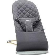 BabyBjorn Bouncer Bliss Black Cotton