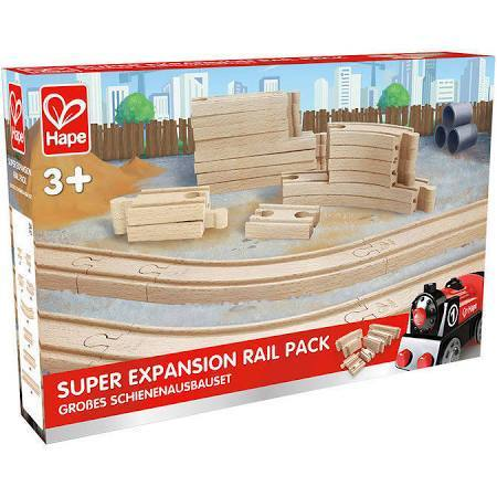 Hape Super Expansion Rail Pack 24 Pieces