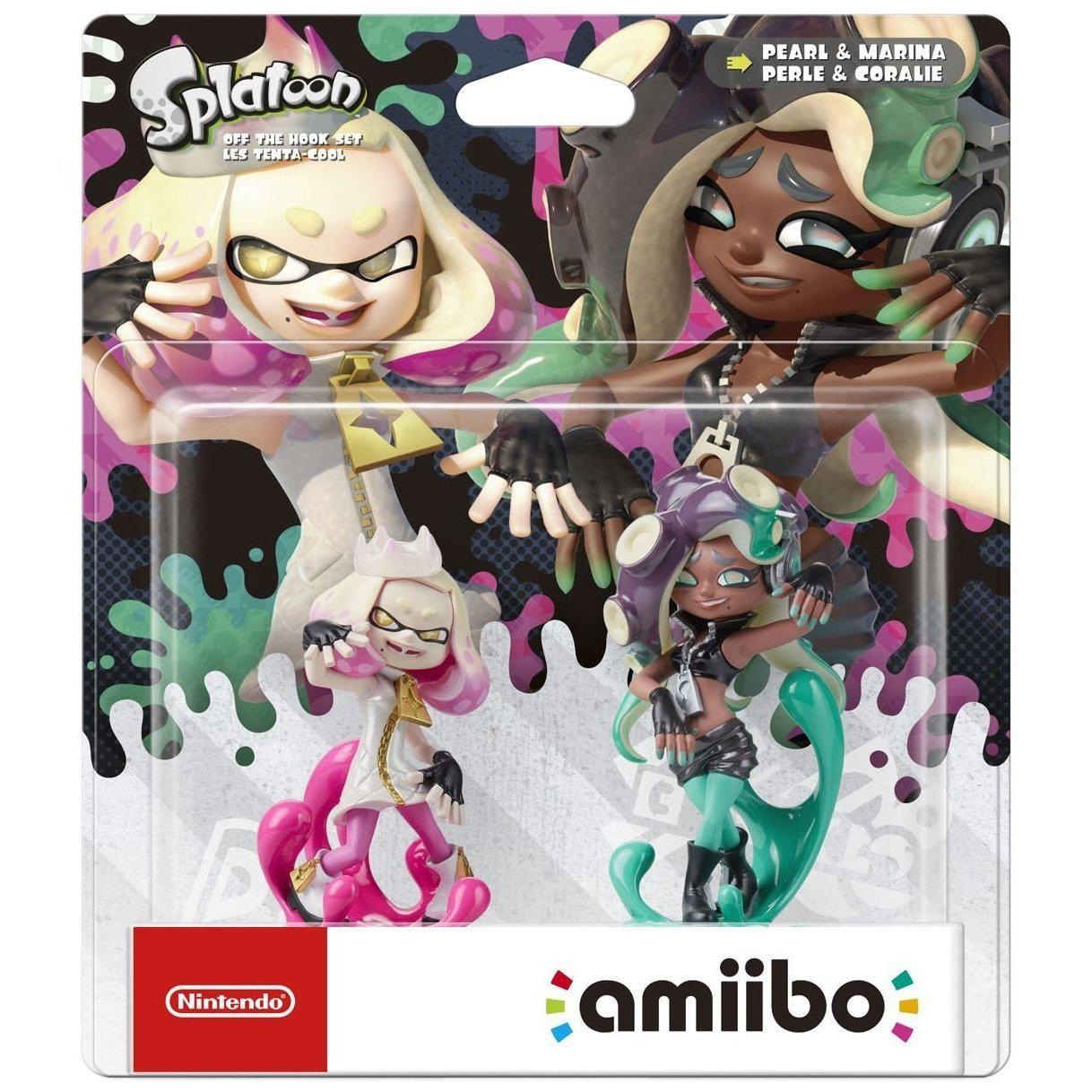Nintendo Amiibo Splatoon Off the Hook Double Pack