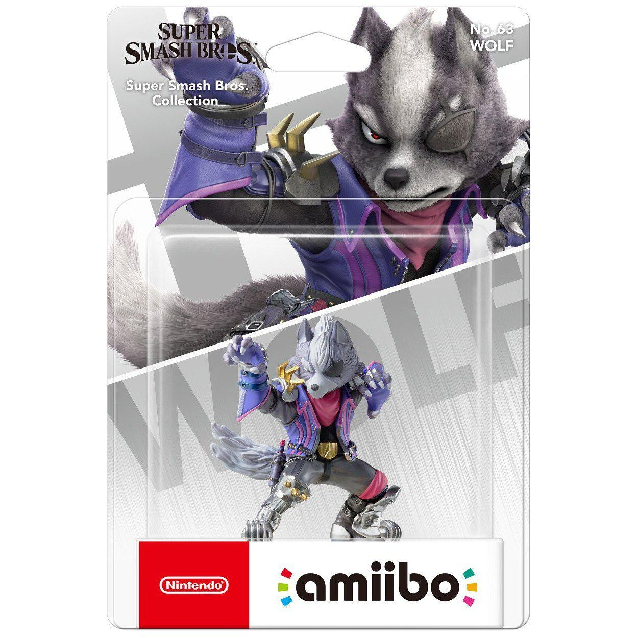 Nintendo Amiibo Wolf (Super Smash Bros. Collection)