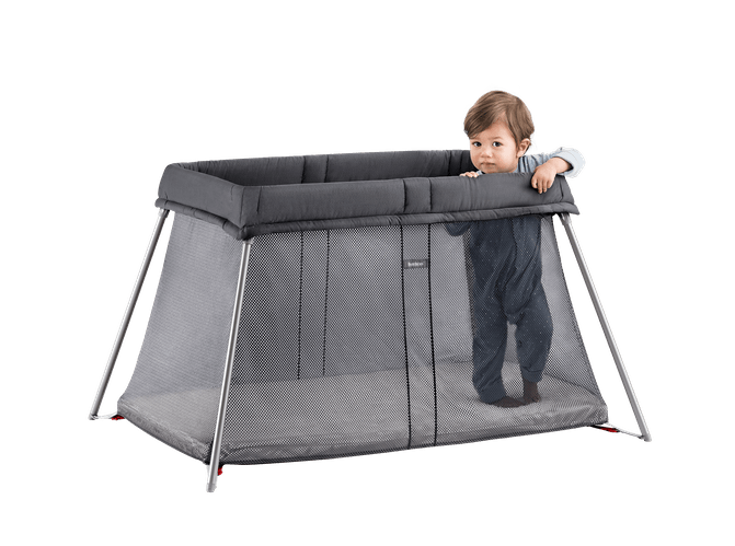 BabyBjorn Travel Cot Easy Go Anthracite Mesh
