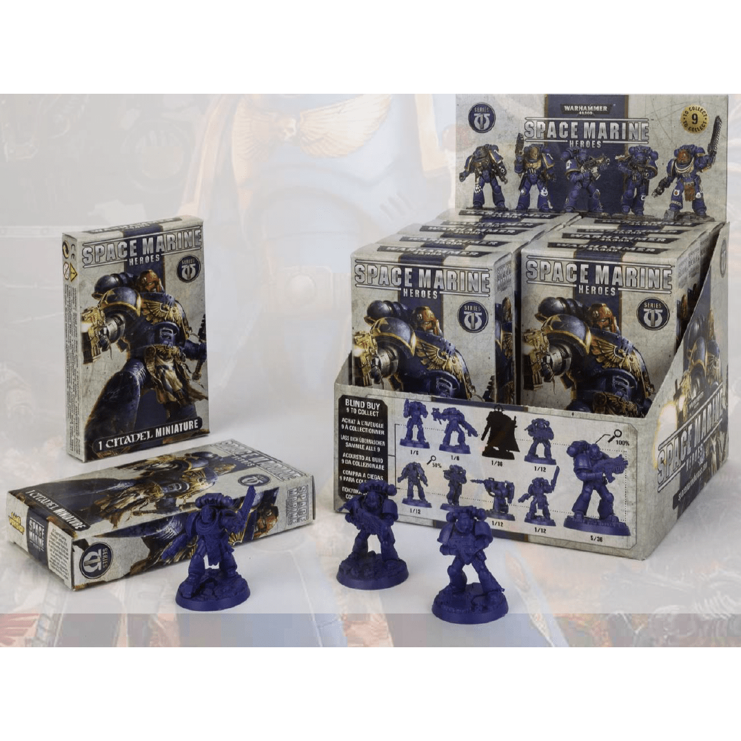 Space Marine Heroes Blind Buy Collectibles Booster Box