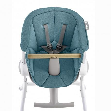 Beaba Up & Down High Chair Seat Pad - Blue
