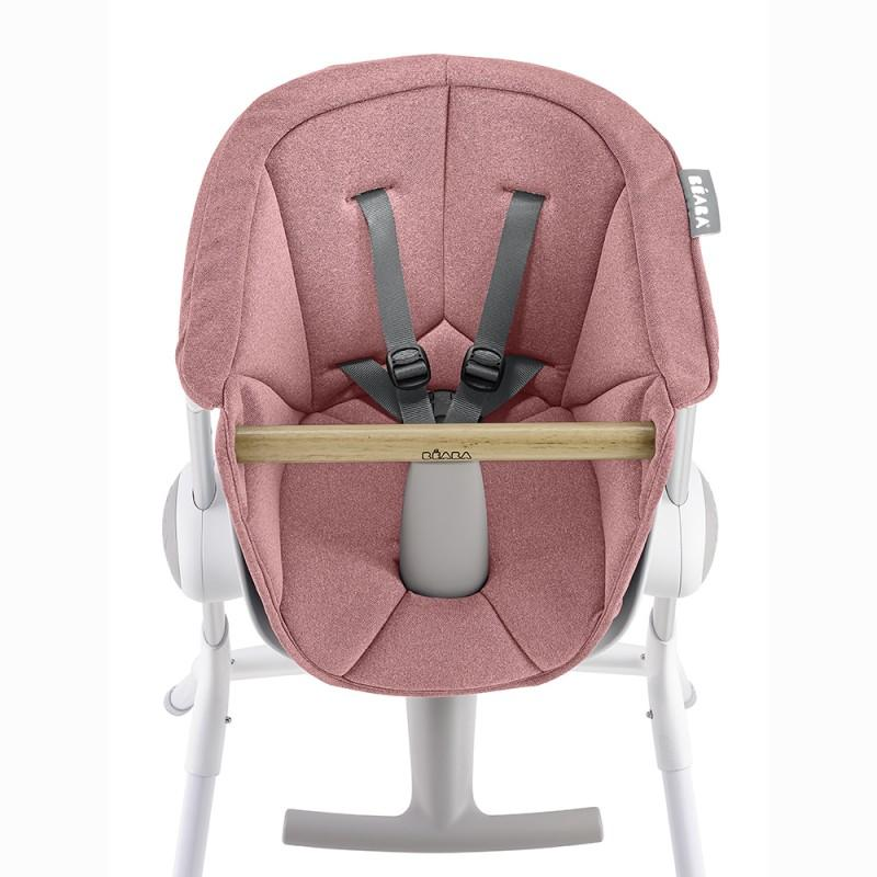 Beaba Up & Down High Chair Seat Pad - Pink