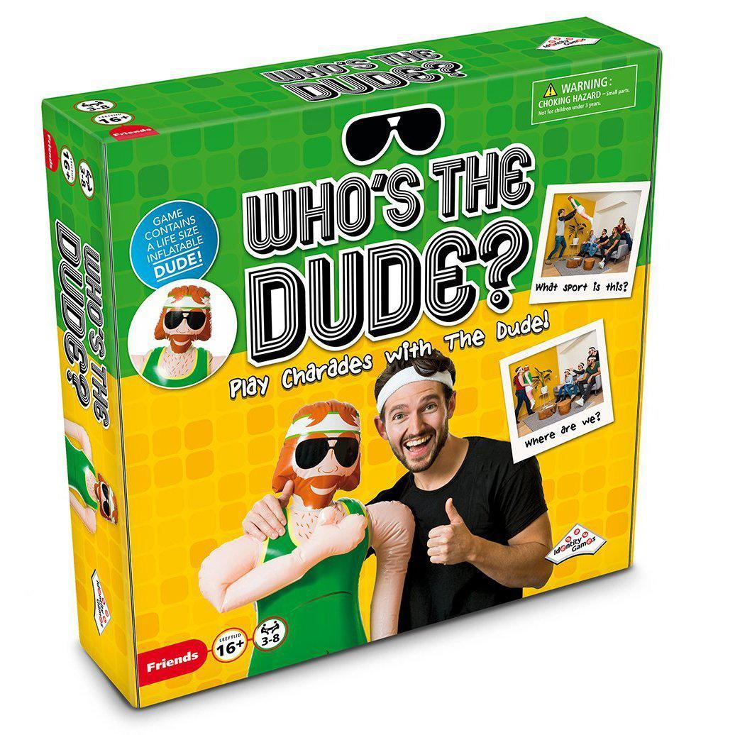 Who's The Dude Party Game