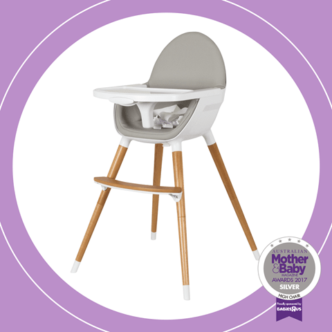 Childcare Pod Timber Highchair - Natural