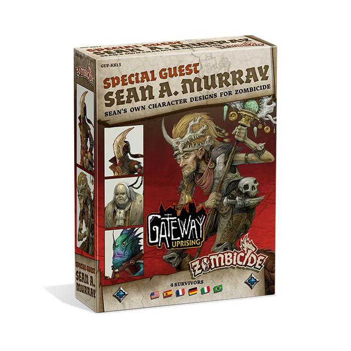 Zombicide Green Horde Sean A Murray Special Guest Box