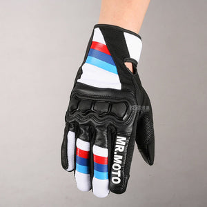 Mr. Moto M Color Super Fabric Motorcycle Touch Screen Gloves For R1200GS S1000RR F800GS F700 650GSA S1000XR Motorrad
