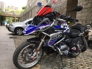 R1200GS ADV 3M Crystal Plastic Whole Body Decal Sticker Stripe 2017-18 Waterproof Superb Quality Rallye Exclusive