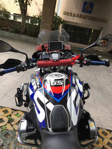 Hot! R1200GS ADV 3M Crystal Plastic Whole Body Decal Sticker Stripe 2017-18 Waterproof Superb Quality Rallye Exclusive