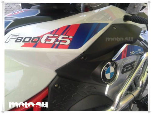 F800GS 2013-17 Full Body Protection Reflective Decal Stripe Sticker 5 Color