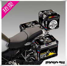R1200GS ADV Travel Event 2018 Thick Black Side Pannier Box Sticker Decal
