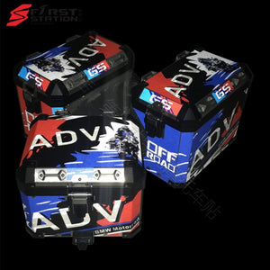 3 x Pannier Boxes Storm R1250 750 850 R1200GS ADV Protector Cover Sticker Decal