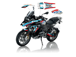 R1200GS LC 17-18 Rally Whole Bike Body Fuel Tank Sticker Decal
