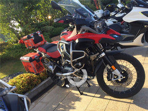R1200GS ADV Let's Go Adventure Factory Pannier Box Red Protector Cover Sticker Decal Full Set 3 Boxes
