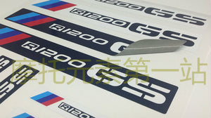 R1200GS ADV/LC F800GS ADV Pannier Box Helmet Handle Protector 3M Thick Sticker Decal Set