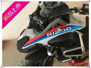 R1200GS ADV Reflective Beak Fender Sticker Decal M 100 Anniversary Color Thick 3M  Material