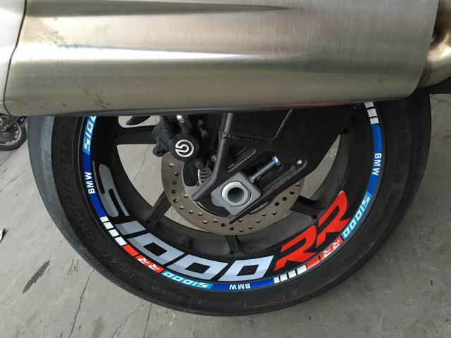 S1000RR Wheel Rim 3D Reflective Hand Made Stripes Sticker Decal Front + Rear Full Set For BMW