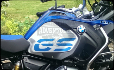 R1200GS ADV Fuel Tank Blue Fuel Tank GS Cover Sticker Decal x 2 (left + right)