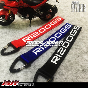 Key Ring R1200GS ADV LC GSA Adventure Motorrad GS Enduro 18cm Heavy Quality Key Ring Fob Neck Chain Biker Motorcycle Adventure 2018