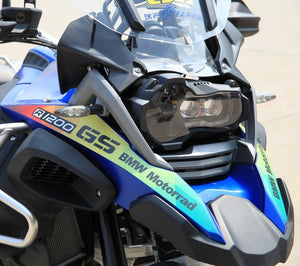 R1200GS ADV Beak Waterproof Sticker Left Right Blue Green Decal