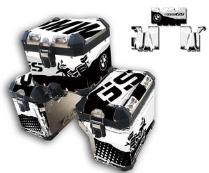 3 x R1200GS ADV 3M Factory Original Pannier Box Sticker Decal