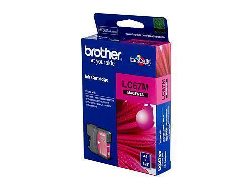 Brother LC67 Magenta Ink