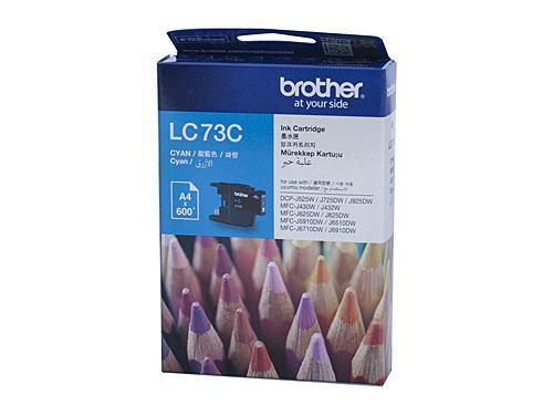 Brother LC73 Cyan Ink