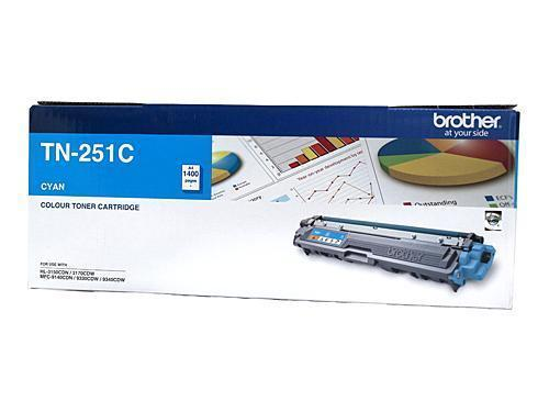 Brother TN-251C Cyan Toner