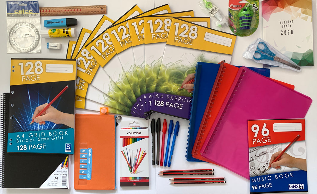 34 Piece Back to School Stationery Pack