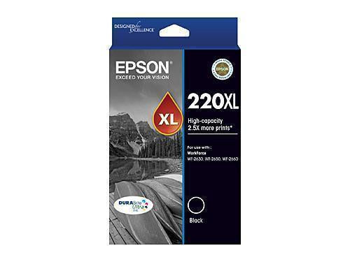 Epson 220 Black XL Ink