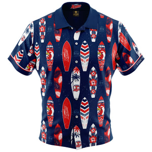 Sydney Roosters NRL Hawaiian Shirt Front