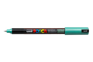 MARKER UNI POSCA PC1MR N/POINT 0.7MM METALLIC GREEN