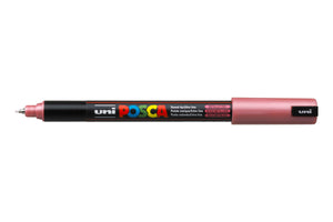 MARKER UNI POSCA PC1MR N/POINT 0.7MM METALLIC RED