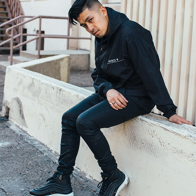 Earl Windbreaker - Black