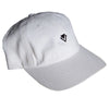Dad Hat Logo Emblem - White