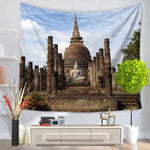 Buddha Wall Tapestry - 5x5ft - Tapestry Room